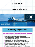 Chapter 12 Network Models