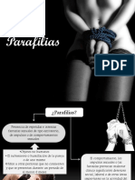 Presentación parafilias