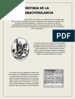 Historia de La Farmacovigilancia en El Mundo