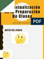 Contextualización en La Preparación de Clases