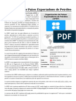 Organización de Países Exportadores de Petróleo