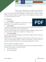 Chapitre 2 - Les Fonctions Logiques 2 Pages Par Feuille