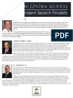 Superintendent search finalists