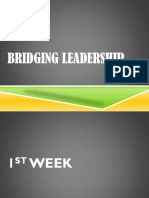 Lecture Bridging Leadership