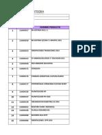 ANEXO N 3 Formato Cotización