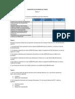 Cuadernillo de Actividades Módulo 1 Tetra