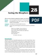 Biology - Biosphere