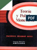 Teoria y Politica Monetaria - Pacifico Huaman Soto