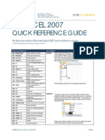 Tips and Tricks for Microsoft Excel 2007 (Win)