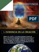 Evidencias de La Existencia de Dios