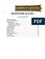 Warhammer Quest monster spell compilation