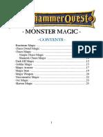Warhammer Quest monster spell compilation