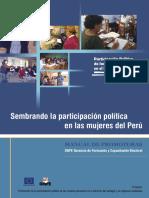 Sembrando Participación Política de Las Mujeres en El Perú