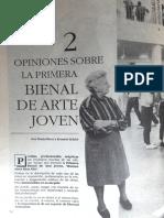 Primera Bienal de Arte Joven Revista Asuntos Culturales