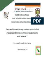 Acupuntura y Parkinson Dra. Laura Patricia Martínez García