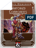 Warforced Components