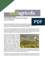 Tecnologia Para Anticipar Riesgos Agroclimaticos 14082012 PDF 125kb