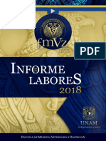Informe de Labores 2018 FMVZ