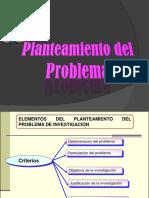 Elementos Del Planteamiento de Un Problema