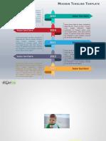 Modern Timeline PowerPoint02