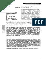 LEY QUE MODIFICA EL ARTÍCULO 2° DE LA LEY N° 30864, LEY QUE OTORGA EL GRADO INMEDIATO SUPERIOR AL PERSONAL DE LA POLICÍA NACIONAL DEL PERÚ, EN SITUACIÓN DE ACTIVIDAD, EGRESADO DEL CENTRO DE FORMACIÓN PROFESIONAL DE LA SANIDAD DE LA POLICÍA NACIONAL DEL PERÚ, COMPRENDIDO EN EL ARTÍCULO 62 DE LA LEY 25066, LEY QUE AUTORIZA UN CRÉDITO SUPLEMENTARIO EN EL PRESUPUESTO DEL GOBIERNO CENTRAL, PARA EL EJERCICIO FISCAL 1989, Y EN EL DECRETO SUPREMO 019-90-IN, INCORPORANDO AL PERSONAL CIVIL NOMBRADO.