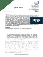 Friedrich Kittler - autorship and love