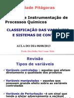 Aula 2-Classificacao Das Variaveis_ Controle e Instrumentacao 2013-2-20130823122851