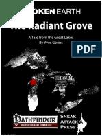 Broken Earth the Radiant Grove (PFRPG)