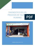 DIAGNÓSTICO Y PLAN DE ACCIÓN A LOS PROCESOS DE TALENTO HUMANO DE LA EMPRESA FERRETERÍA LA UNICA (1).docx