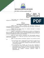 Legislativo Palmas to Gov Br Media Leis LEI COMPLEMENTAR Nº 08 de 16-11-1999 15-59-14