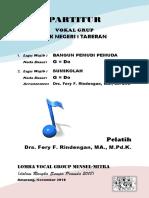 Cover Partitur