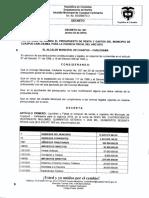 Liquidación Presupuesto 2019 - Decreto 001 de 2019