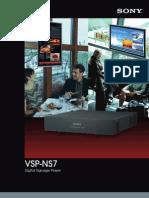 Sony Vsp-ns7 3