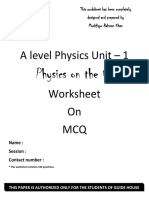 IAL Physics Unit 1 MCQ QP.pdf