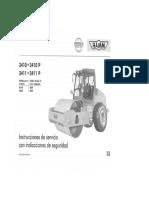 Manual de Operación Rodillo Compactador HAMM Modelo 3410 3411