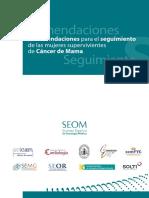 Recomendaciones Seguimiento Mujeres Supervivientes Cancer de Mama - Copia