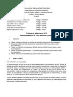 Pre Informe Intercambiador Tubos y Coraza Final