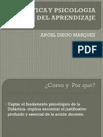 Didactica y Psicologia