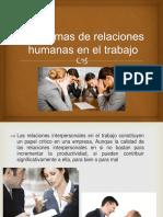 Problemas de Relaciones Humanas en El Trabajo