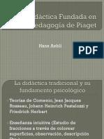 Una Didáctica Fundada en La Pedagogía de Piaget