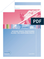 2018 Un Report Opium Trafficking Northern Route Tajik Etc