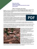 Mariana & Brumadinho Mines Disasters Brazil