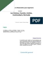 U3_Las Cónicas, Función, Limites, Continuidad y Derivada.pdf