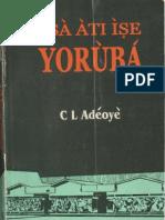 Asa ati Ise Yoruba (Adeboye).pdf
