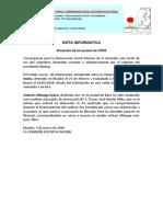 Situación de Los Presos de CPDS 040319