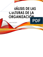 El Análisis de Las Culturas de La Organización