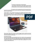 Review Guide - ASUS VivoBook Pro F570, Laptop 15 Inci Dengan Ryzen Dan Grafis Mumpuni