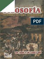 Filosofia Anti Mitologica Anti Teologica Anti Hermeneutica Jose F W Lora Cam
