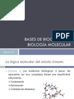 Bases de Bioquímica y Biología Molecular