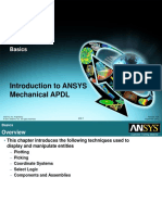 MAPDL Intro 13.0 L05 Basics